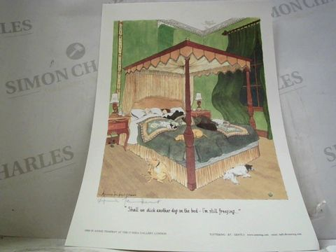 ANNIE TEMPEST SIGNED LOOSE PRINT