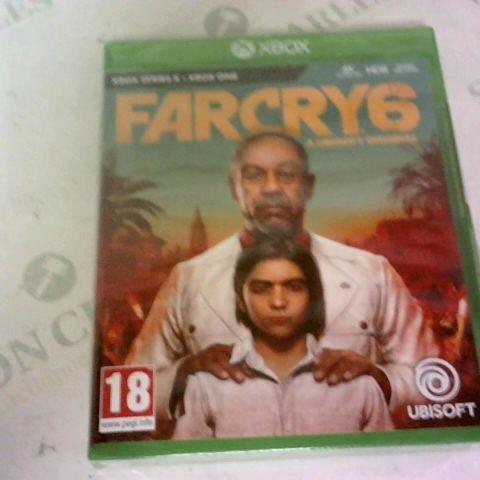 FAR CRY 6 XBOX ONE/XBOX SERIES X GAME