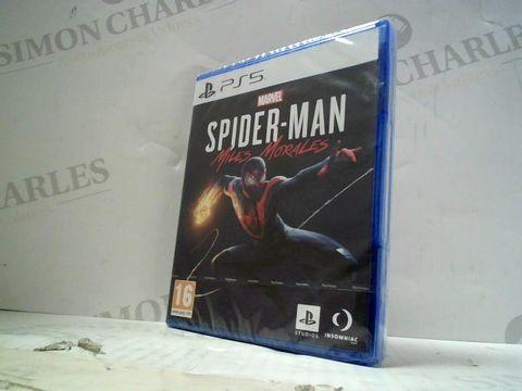 MARVEL SPIDER-MAN MILES MORALES  PLAYSTATION 5 GAME