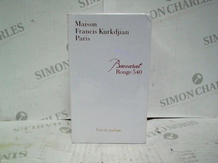 MAISON FRANCIS KURKDJIAN BACCARAT ROUGE 540 EDP - 70ML - BRAND NEW SEALED