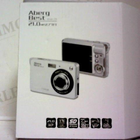 "BOXED ABERG BEST 21 MEGA PIXELS 2.7"" LCD RECHARGEABLE HD DIGITAL CAMERA - DIGITAL VIDEO CAMERA"