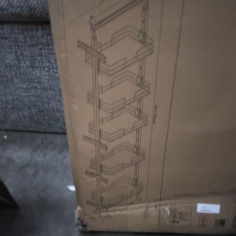 BOXED GOODHOME PEBRE PULLOUT LARDER STORAGE UNIT 30CM