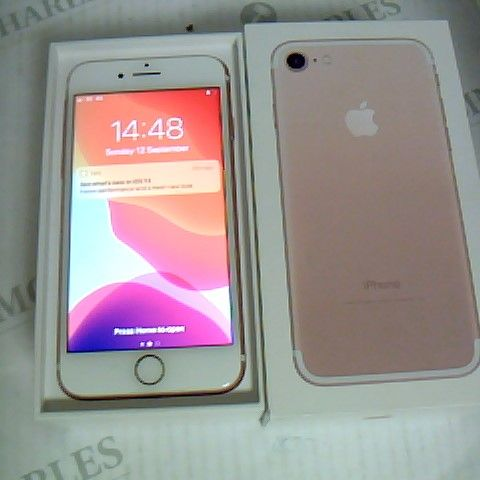 BOXED IPHONE 7 - MODEL A1660 - POWERS ON
