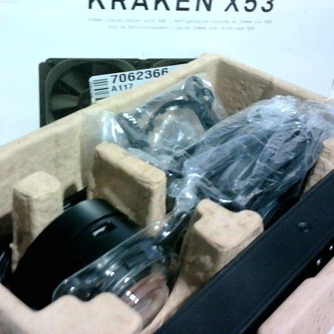 KRAKEN X53 240MM LIQUID COOLER