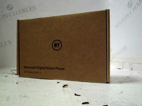 BT ADVANCED DIGITAL HOME PHONE WITH ALEXA BUILT IN