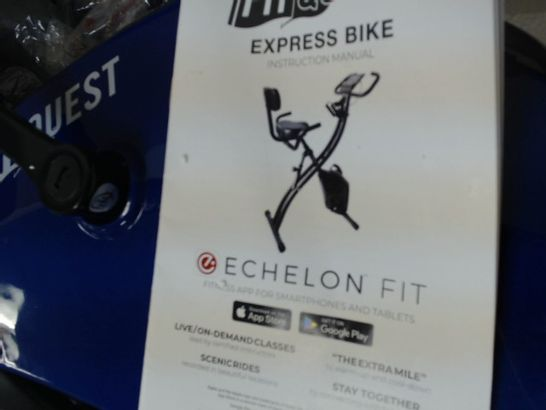 FITQUEST UPRIGHT FLEX EXPRESS AND RECUMBENT BIKE - COLLECTION ONLY