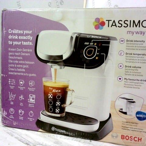 BOSCH TASSIMO MY WAY COFFEE MACHINE
