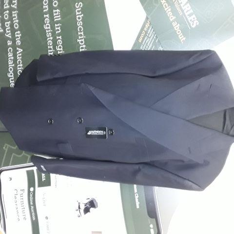 BRAND NEW BECKER 3-BUTTON SUPERFINE WOOL BLAZER IN BLACK - 31 D28