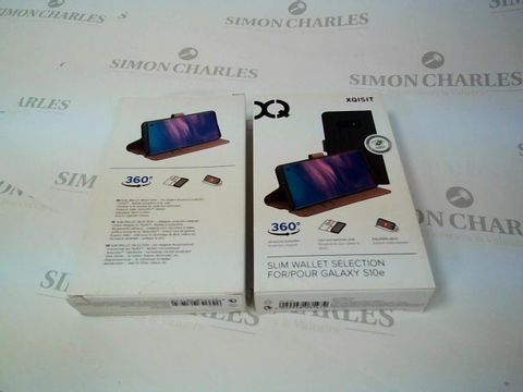 14 X BRAND NEW BOXED XQISIT SLIM WALLET SELECTION FOR GALAXY S10E