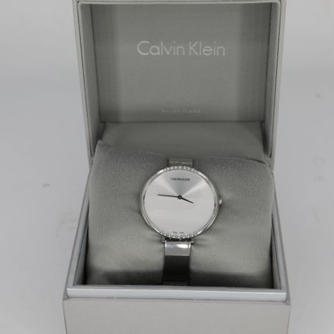 BRAND NEW BOXED CALVIN KLEIN LADIES RISE SS WATCH