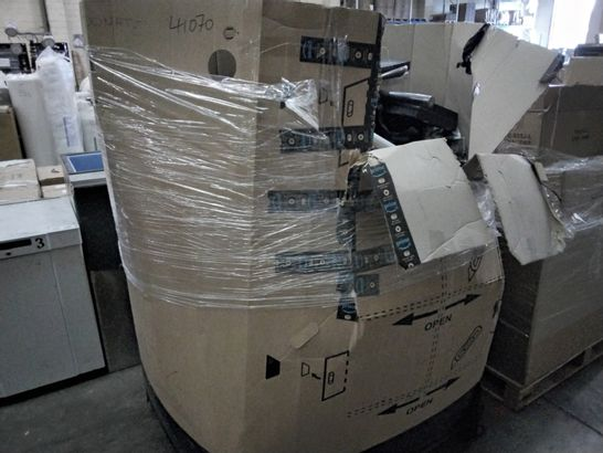 PALLET OF ASSORTED ITEMS, INCLUDING, WINDOW TINT, EJECGION TOYS, MOM PLAQUE,