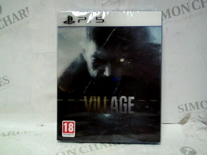 SEALED RESIDENT EVIL VII VILLAGE PS5 GAME - HOLOGRAPHIC SPECIAL EDITION