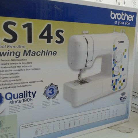 BROTHER AT YOUR SIDE LS14S COMPACT FREE ARM SEWING MACHINE