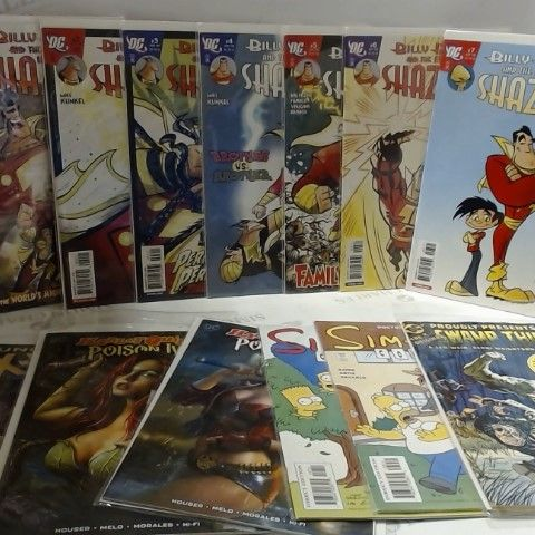LOT OF APPROXIAMTELY 27 ASSORTED COMIC BOOKS