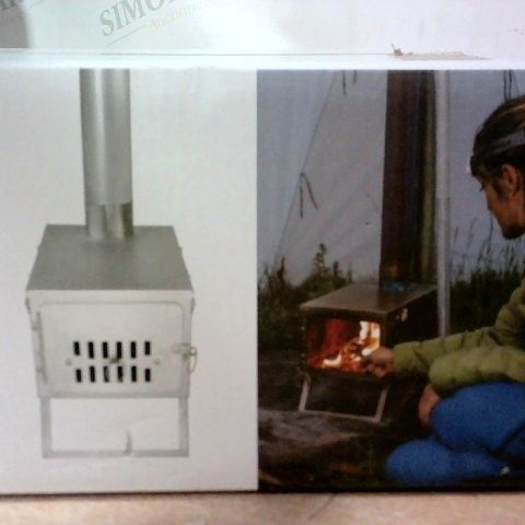 FASTFOLD TITANIUM CAMPIN STOVE WITH CARRY BAG (SEALED BOX)