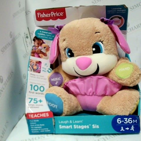 FISHER PRICE TEACHES - A FRIEND WHO CUDDLES, LIGHTS UP AND TEACHES TOO!