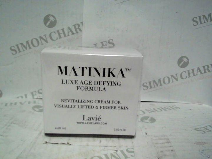 LAVIE MATINIKA LUXE AGE DEFYING FORMULA - 60ML - BRAND NEW SEALED