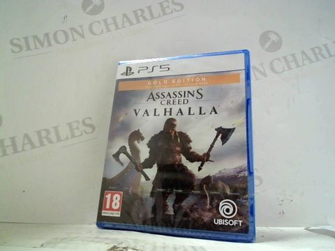 ASSASSINS CREED - VALHALLA: GOLD EDITION PLAYSTATION 5 GAME