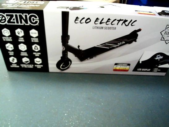 ZINC ECO COMMUTER ELECTRIC SCOOTER- COLLECTION ONLY RRP £249.99