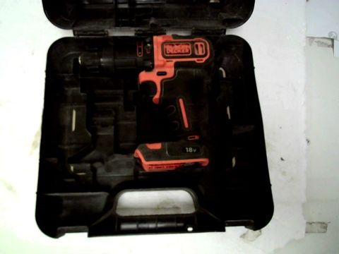 BLACK & DECKER 18V 2G HAMMER DRILL