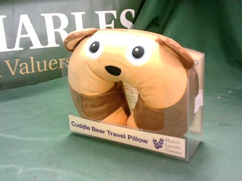 CUDDLE BEAR TRAVEL PILLOW