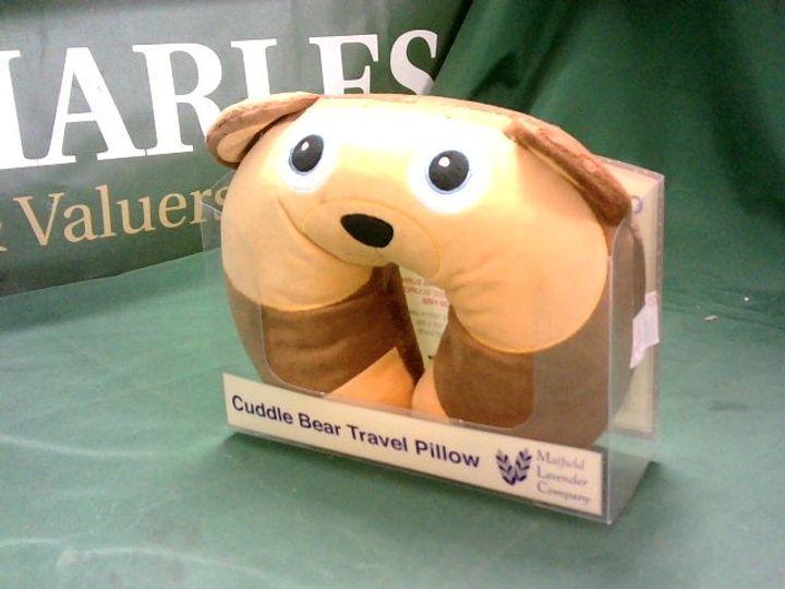 CUDDLE BEAR TRAVEL PILLOW