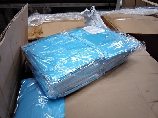 PALLET OF APPROXIMATELY 21 CASES EACH CONTAINING 150 PLASTIC LONG SLEEVED APRONS