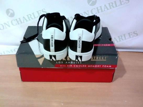 BOXED PAIR OF SKECHER STREET - SIZE 8