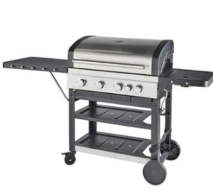 BOXED GOOD HOME OWSLEY MODEL OWSL 4.1 GAS BARBECUE