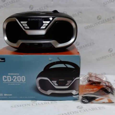 OAKCASTLE CD-200 BLUETOOTH/USB CD PLAYER