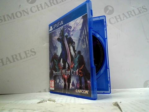 DEVIL MAY CRY 5 PLAYSTATION 4 GAME
