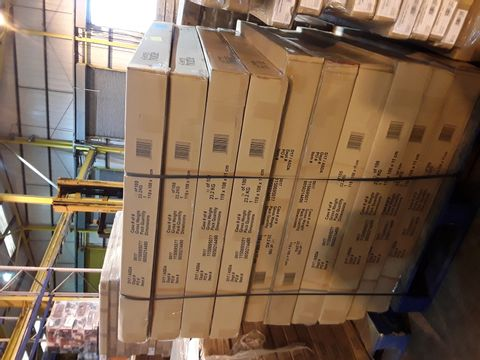 PALLET OF BRAND NEW BOXED GEORGE FURNITURE PARTS- BOX 1 OF 2 ONLY