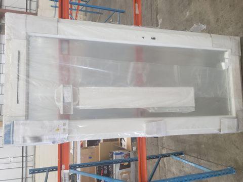PVCU FULL GLAZED CLEAR BACK DOOR RH OPENING 2055 × 920