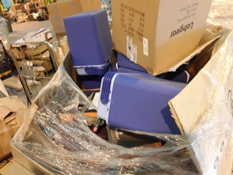 PALLET OF ASSORTED CAMPING PRODUCTS AND CLOTHING