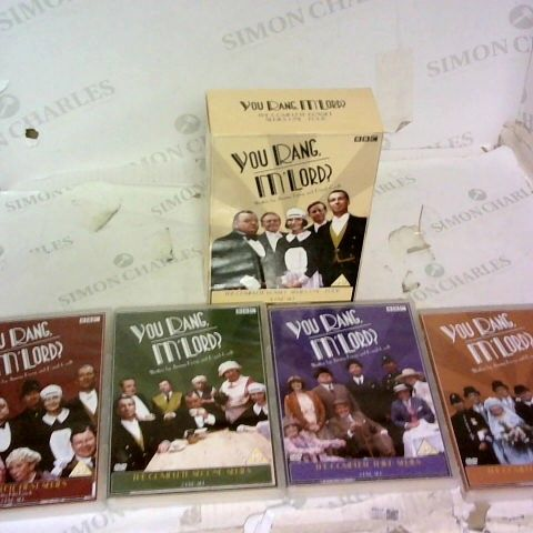 YOU RANG, M'LORD SERIES ONE-FOUR THE COMPLETE BOX SET