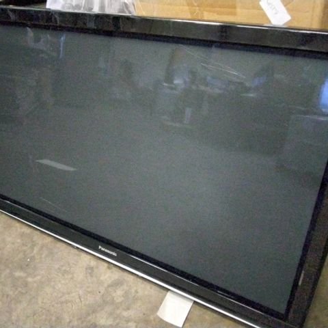 PANASONIC TX-P50G10B TELEVISION WITH WALL MOUNT & REMOTE