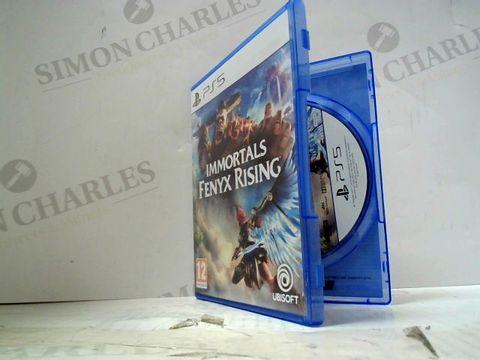IMMORTALS FENYX RISING PLAYSTATION 5 GAME