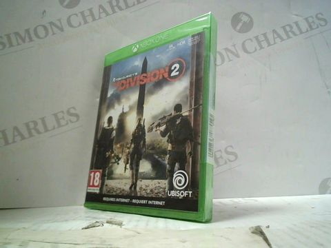 TOM CLANCY'S - THE DIVISION 2 XBOX ONE GAME
