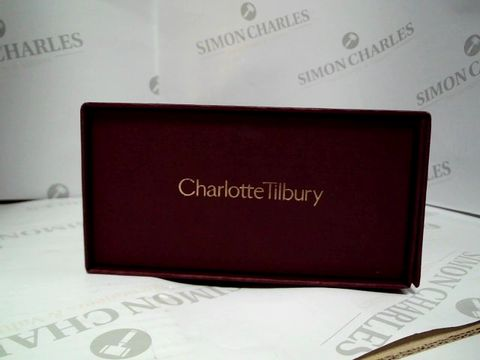 CHARLOTTE TILBURY COSMETICS BOX - COSMETICS MAY VARY