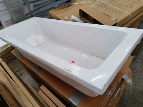 ACRYLIC WHITE BATH NO TAP HOLES 170 × 70