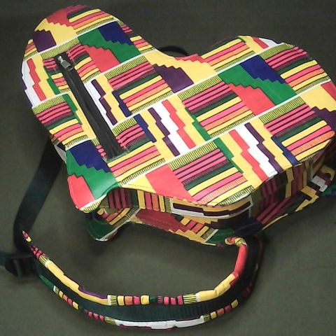 AFRICAN CONTINENT SHAPED BACKPACK