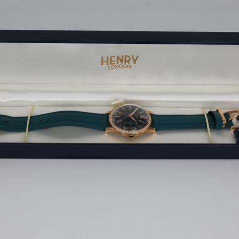 BRAND NEW BOXED HENRY LONDON HL34-SS 0206 STARTFORD WATCH