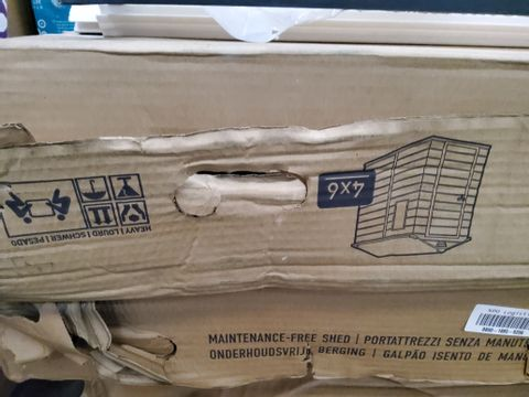 BOXED KETER 4 × 6 MAINTAINANCE FREE SHED