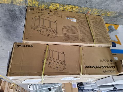 BOXED GOODHOME ROCKWELL BARBECUE (2 BOXES)