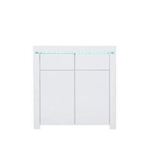 BOXED GRADE 1 ATLANTIC WHITE COMPACT SIDEBOARD (1 BOX) RRP £179.00