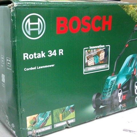 BOSCH ROTAK 34R CORDED LAWN MOWER