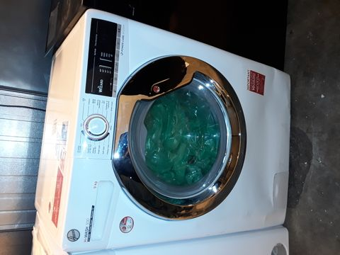 HOOVER H-WASH 300 H3WS495TACE/1-80 9KG WASH, 1400 SPIN WASHING MACHINE - WHITE
