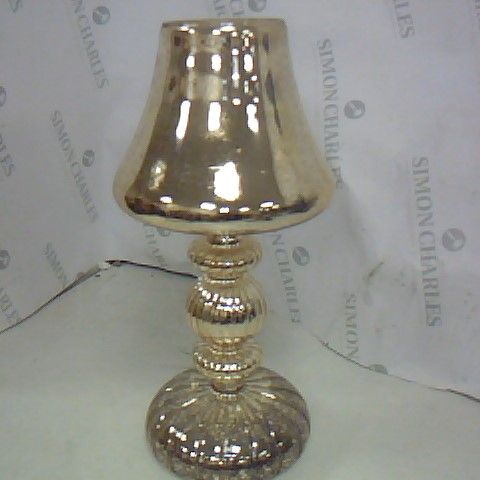 HOME REFLECTIONS PRE-LIT LED MERCURY GLASS LAMP GOLD