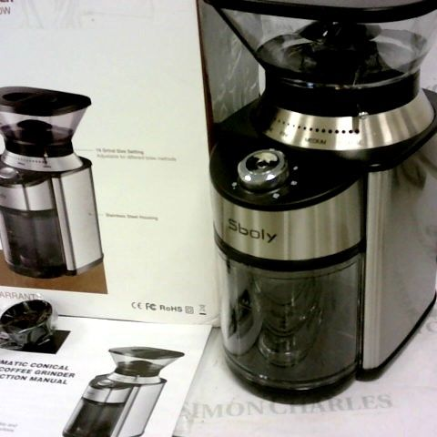 SBOLY AUTOMATIC CONICAL BURR COFFEE GRINDER