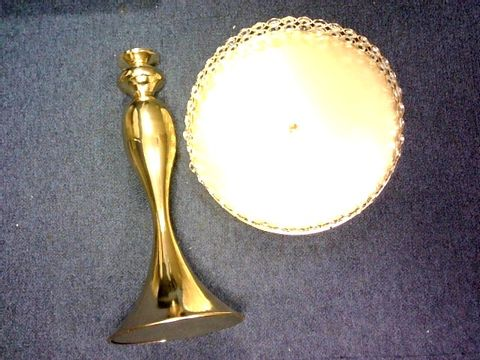 GOLD COLOR CAKE STAND